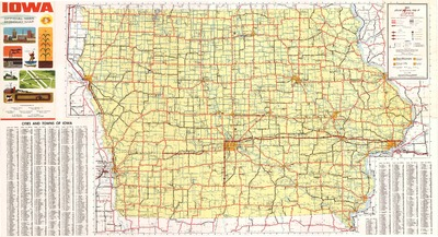 State Of Iowa Transportation Map Iowa Publications Online - Road map of iowa