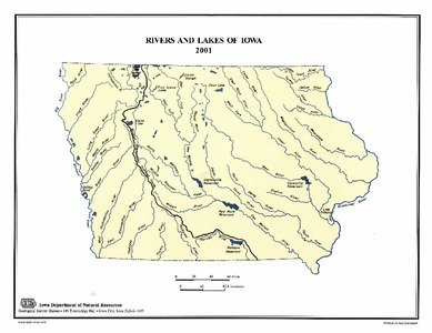 Rivers And Lakes Of Iowa 2001 Iowa Publications Online