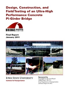 Design, Construction, and Field Testing of an Ultra High
