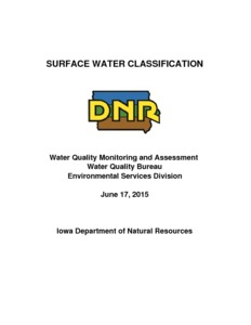 classification of water
